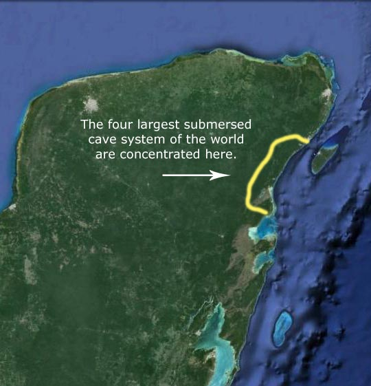 The yucatan peninsula il filo di arianna is located in chemuyil in the center of riviera maya surrounded by cenotes and cave systems making it the worlds top place for gumiabroncs Gallery